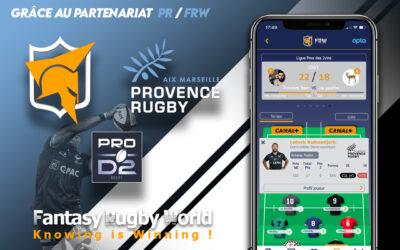 Provence Rugby se lance dans Fantasy Rugby World !