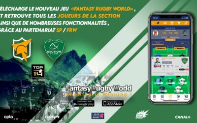 La SECTION en partenariat avec FANTASY RUGBY WORLD