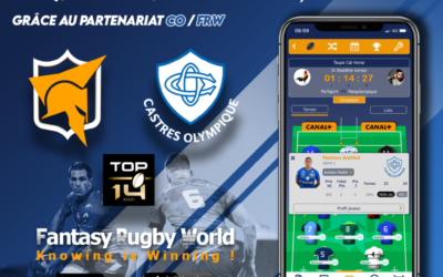 Le CO partenaire de FANTASY RUGBY WORLD !