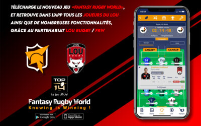 Le LOU se lance dans Fantasy Rugby World!