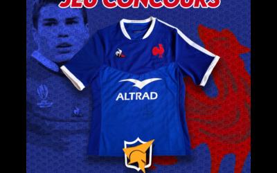 Jeu Concours – Un maillot des bleus à gagner!