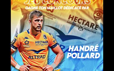 Jeu Concours – Un maillot du MHR signé par Handré Pollard