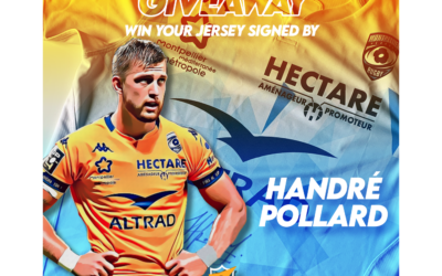Giveaway – Win a MHR jersey signed by Handré Pollard