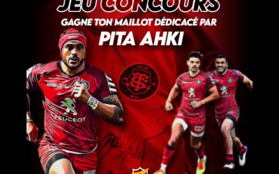 Jeu Concours – Un maillot du ST signé par Pita Ahki