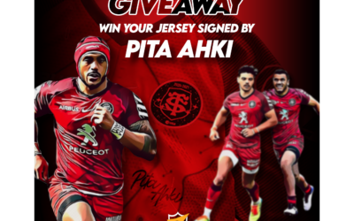 Giveaway – Win a ST jersey signed by Pita Ahki