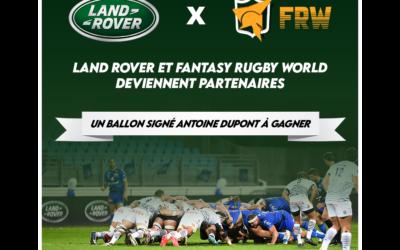Land Rover s'associe à FRW